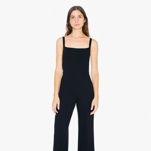 American Apparel Cage Back Jumpsuit